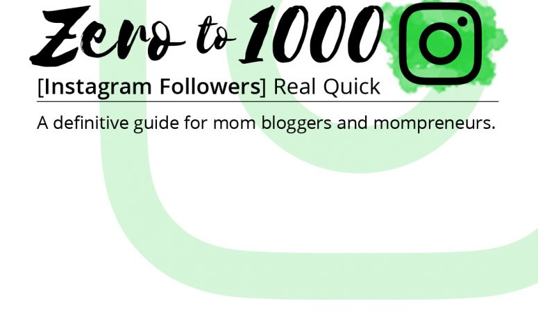 A complete guide to getting your first 1000 instagram followers without any tricks or follow/no follow schemes. Just clearly laid out steps that ensure you grow your Instagram account with REAL FOLLOWERS who translate into real readers or customers!