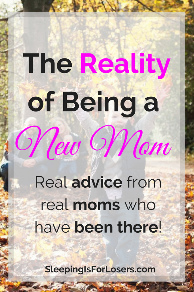Being a new mom is one of the most difficult things for a woman to go through. This post talks about the realities of being a new mom, how it really feels, and how to make it through!