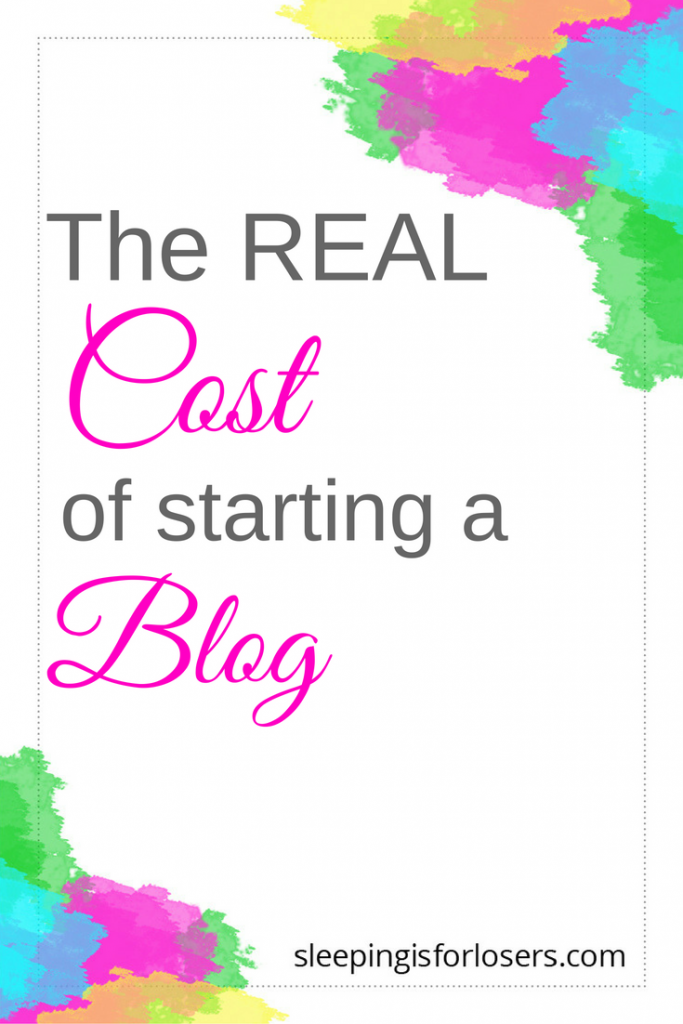How much does it actually cost to start a blog that is profitable? (Actually, way less than you think!)