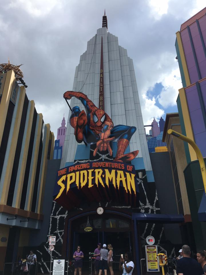 "Amazing Spiderman ride Universal Orlando ""Sleeping Is For Losers"""