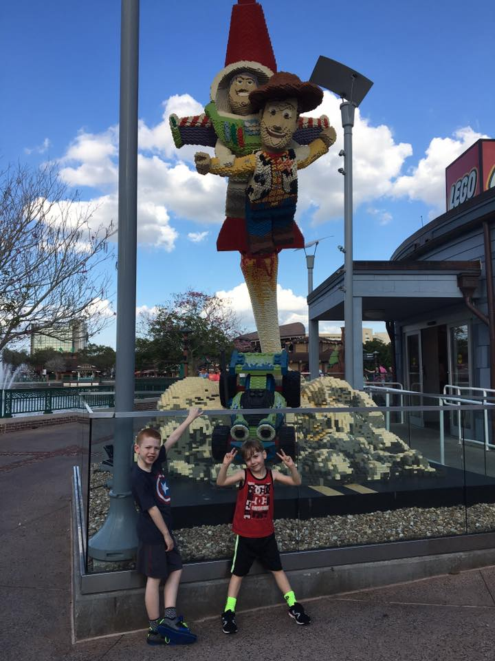 Lego Toy Story Disney Springs