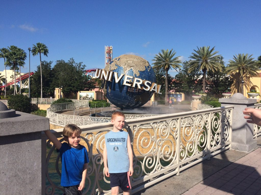 "Universal Orlando Florida family trip ""Sleeping is for Losers"""