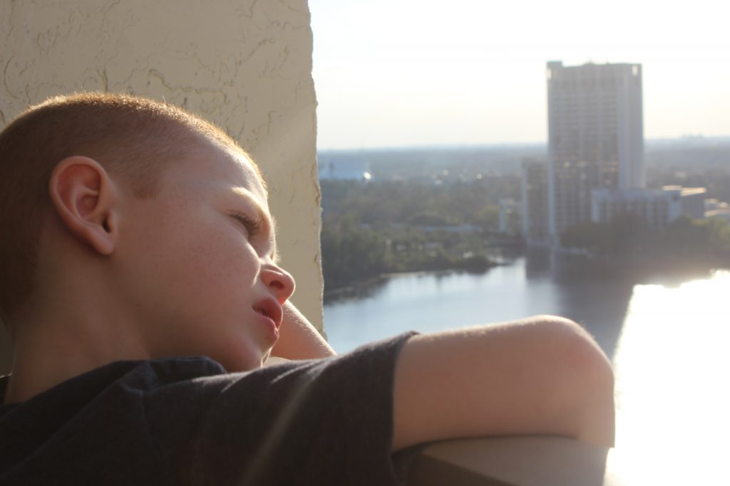 Best Western Lake Buena Vista hotel balcony view