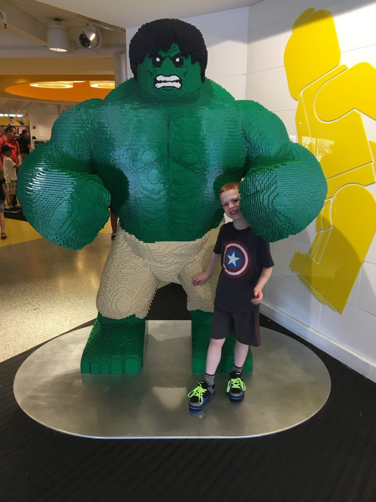 Lego Hulk Disney Springs Lego Store Florida