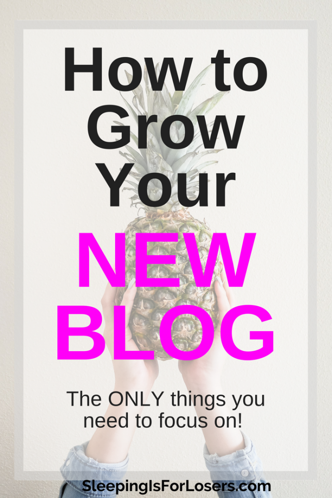 Grow your new blog by focusing on the tasks that matter! This FREE email course will walk you through the items you need to put your attention on during the first year of growing your blog (and what you can forget about!). Save time and your sanity:)