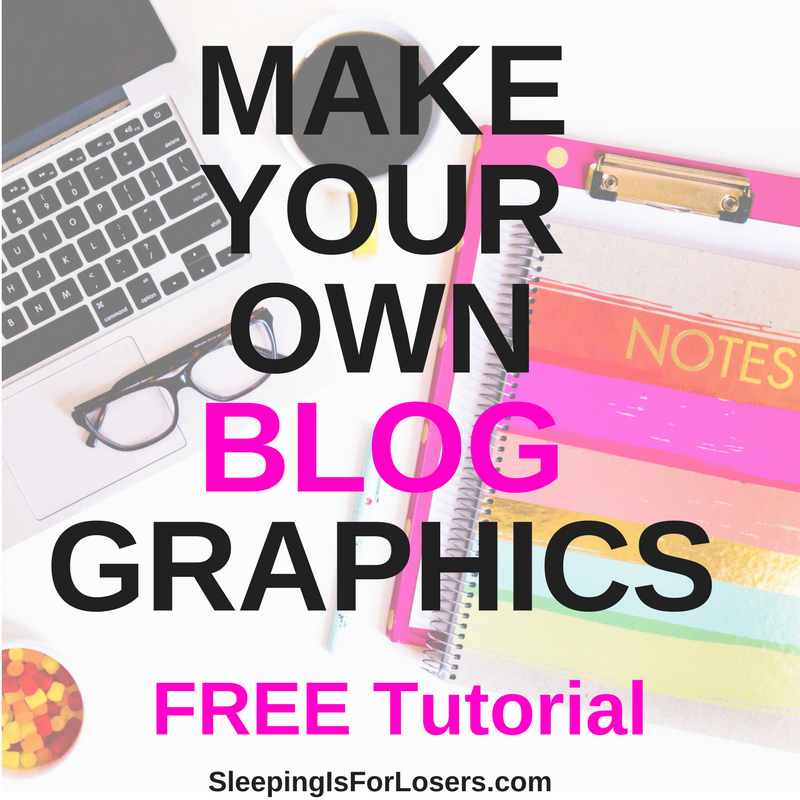 Making your own blog graphics has never been easier. Follow along with my step-by-step tutorial and start making your own graphics for your blog and social media in minutes!