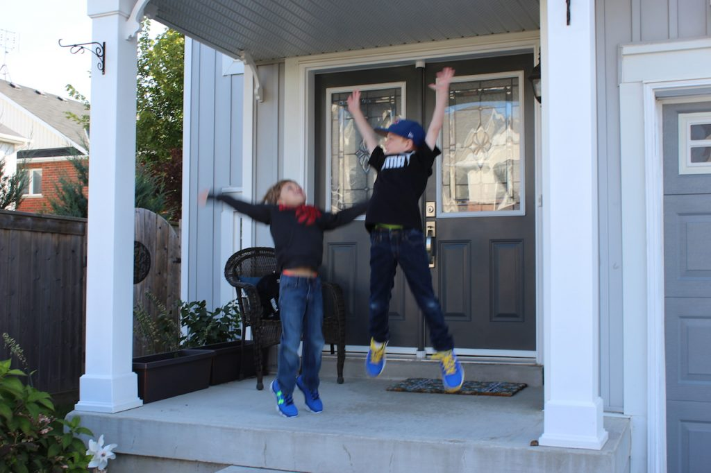 Jumping for Back To School Joy with Sport Chek