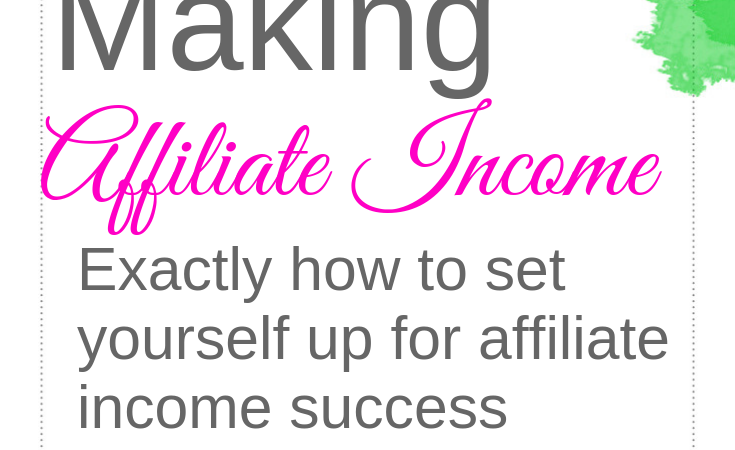 Affiliate Income That Works For You!