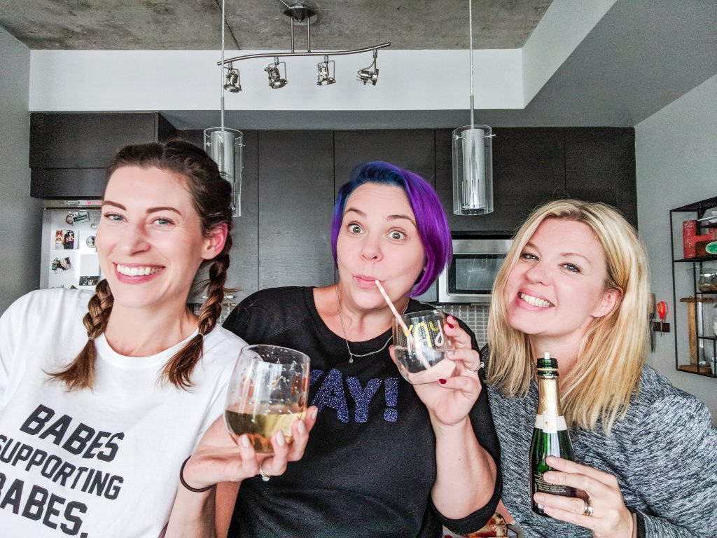 The Perfect Girl's Night In for Moms - Photoshoot